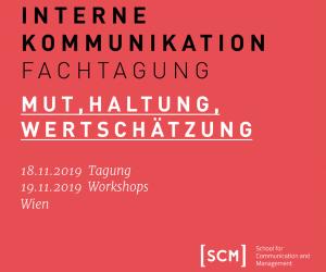 SCM Fachtagung Int Kom Wien 2019