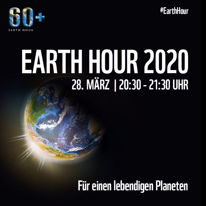 EarthHour 2020 Social Media Quadrat
