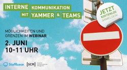 SCM Staffbase Webinar Yammer Tems