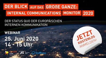 Studie Internal Communications Monitor 2020 Header SCM