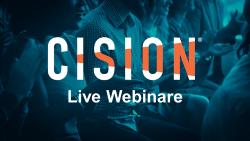 Cision Live Webinare Header
