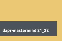 dapr mastermind 21 22 Header