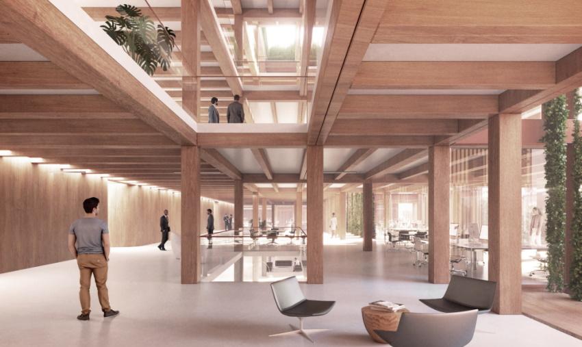 fischerAppelt Campus Neuer Unternehmenssitz 2025 Innenansicht
