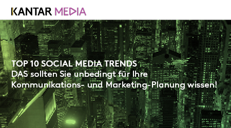 Kantar Media SoMe Trends Banner Werbung PR Journal 1003