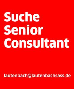 lautenbach sass Textanzeige Senior Consultant juli2017
