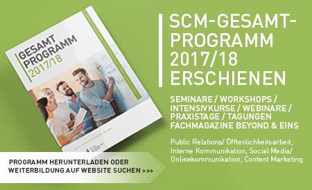 scm online Programm 2017 2018