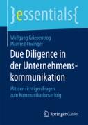 Due Dilligence Ukom Griepentrog Piwinger Cover